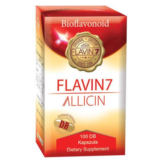 Flavin7 Allicin kapszula - 100db