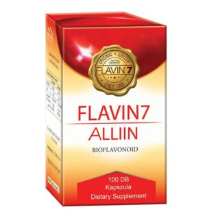Flavin7 Alliin - bioflavonoid komplex + fokhagyma kapszula - 100db