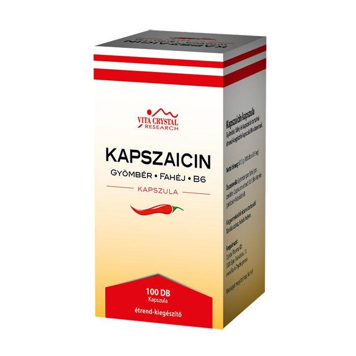 Flavin7 Kapszaicin kapszula - 100db