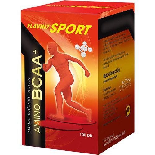 Flavin7 Sport Amino BCAA+ kapszula – 100db