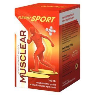 Flavin7 Sport MusClear kapszula – 100db