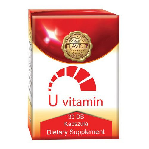 Flavin7 U-vitamin 30db kapszula – 30db