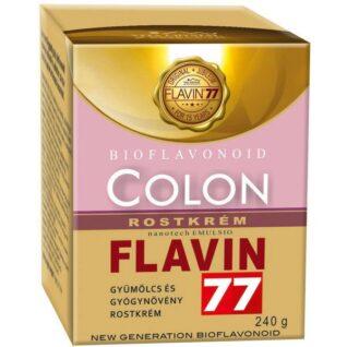 Flavin77 Colon gyümölcs és gyógynövény rostkrém – 240g