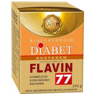 Flavin77 Diabet gyümölcs és gyógynövény rostkrém – 240g