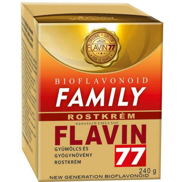 Flavin77 Family gyümölcs és gyógynövény rostkrém - 240g
