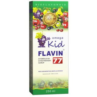 Flavin77 Omega Kid szirup – 250ml