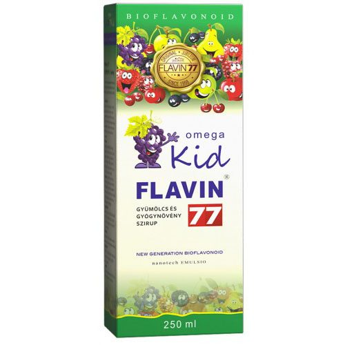 Flavin77 Omega Kid szirup – 250ml