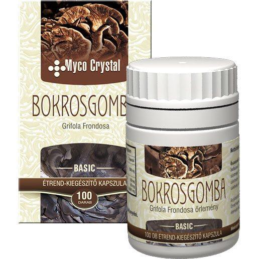 Myco Crystal Bokrosgomba kapszula - 100db