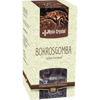 Myco Crystal Bokrosgomba – Maitake gyógygomba – 250 db kapszula