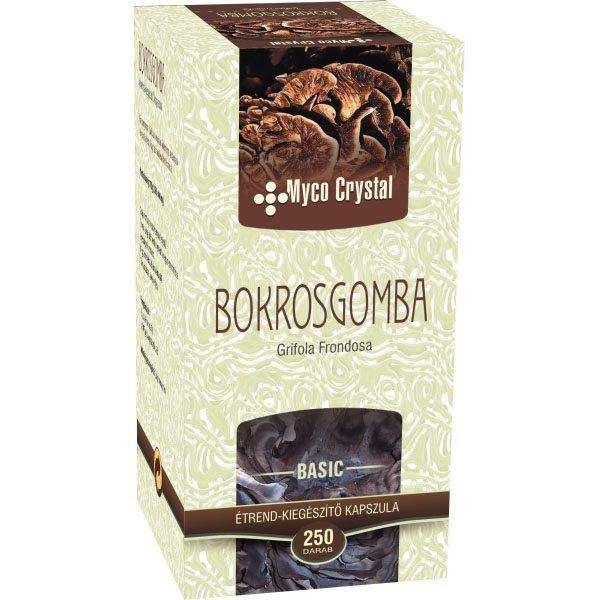 Myco Crystal Bokrosgomba kapszula - 250 db