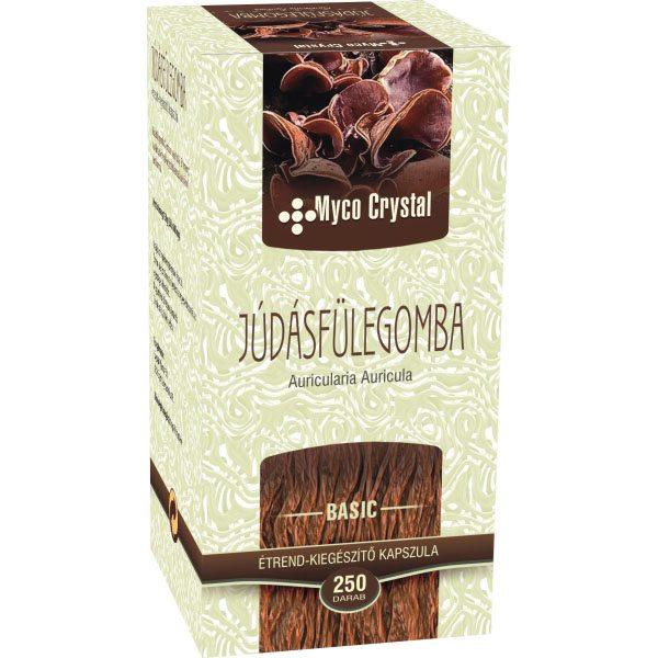 Myco Crystal Júdásfülegomba kapszula - 250 db