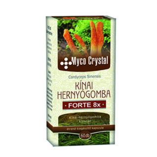 Myco Crystal Kínai hernyógomba Forte kapszula – 60db