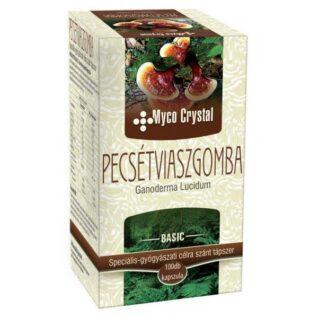 Myco Crystal Pecsétviaszgomba (Ganoderma, Reishi) gyógygomba – 100db kapszula
