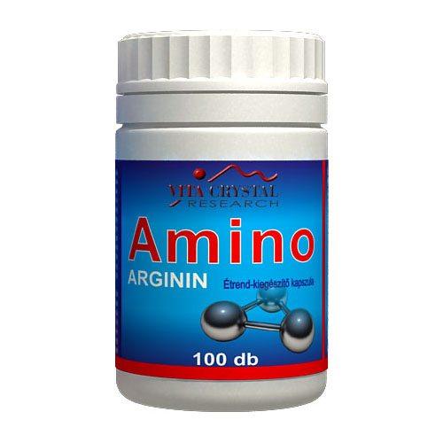 Vita Crystal Amino Arginin kapszula – 100db