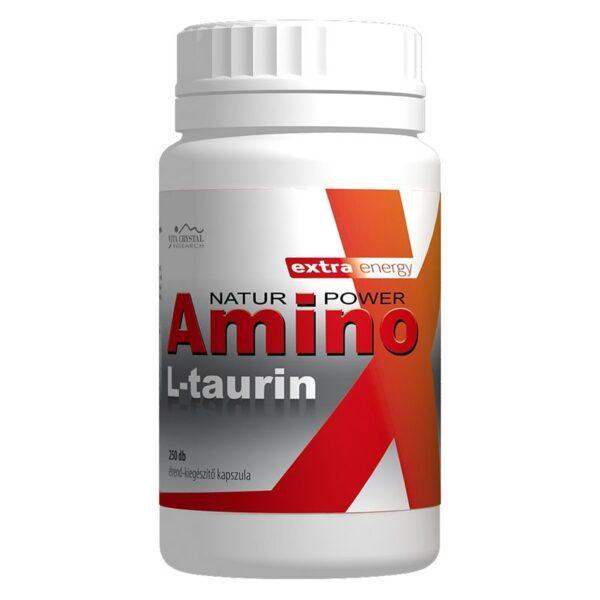 Vita Crystal Amino L-Taurin kapszula – 250 db kapszula