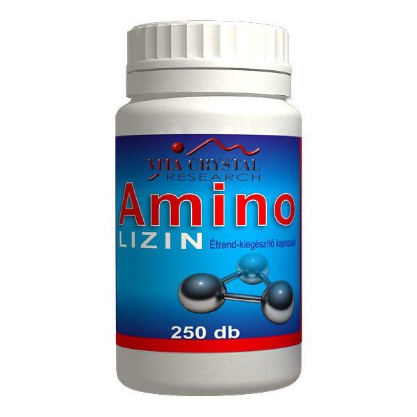 Vita Crystal Amino Lizin kapszula – 250 db kapszula