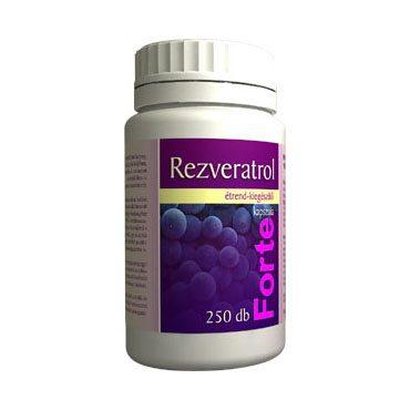 Vita Crystal Rezveratrol Forte kapszula – 250 db