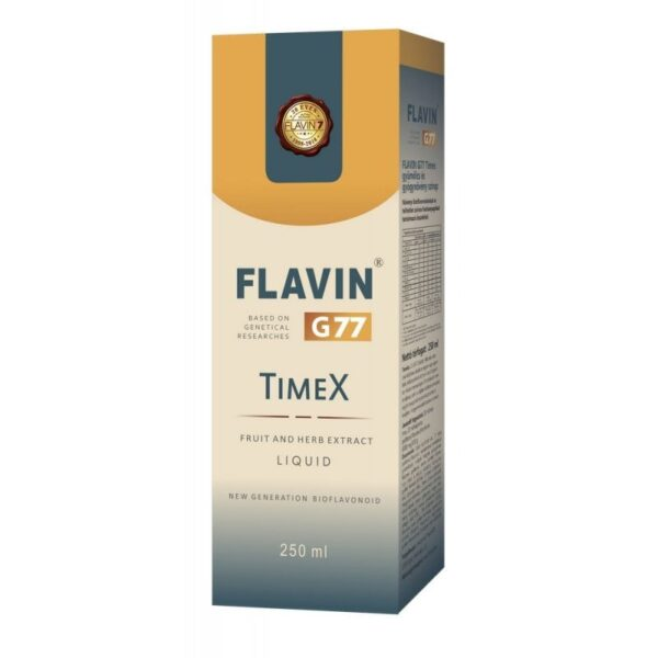 Flavin G77 TimeX szirup – 250ml