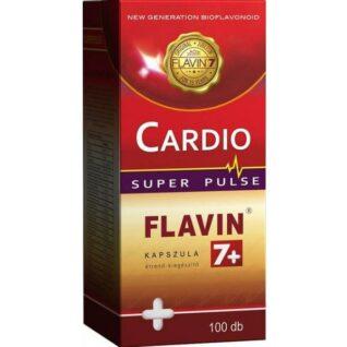Flavin7+ Cardio Super Pulse kapszula - 100 db