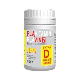 Flavin7 Flavitamin D-vitamin kapszula – 60db
