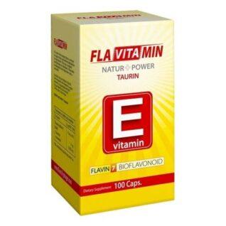 Flavitamin Nature+Power E vitamin kapszula – 100 db kapszula