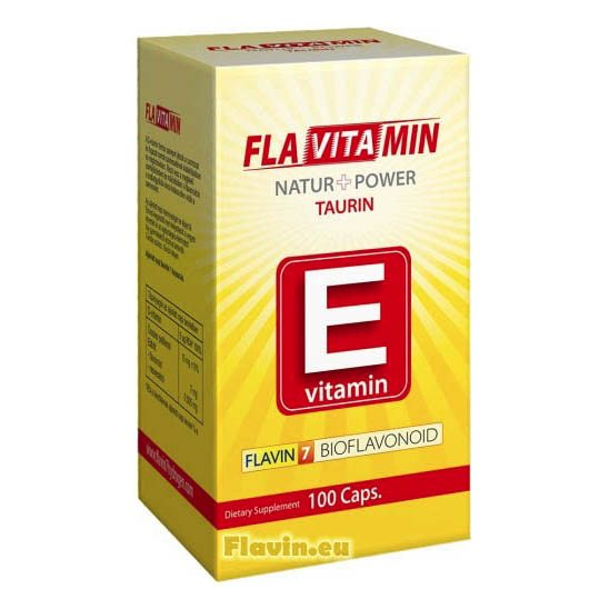 Flavitamin Nature+Power E vitamin kapszula – 100 db kapszula