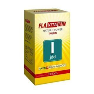 Flavitamin Nature+Power Jód kapszula – 100 db kapszula