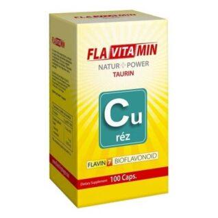 Flavitamin Nature+Power Réz kapszula – 100 db kapszula