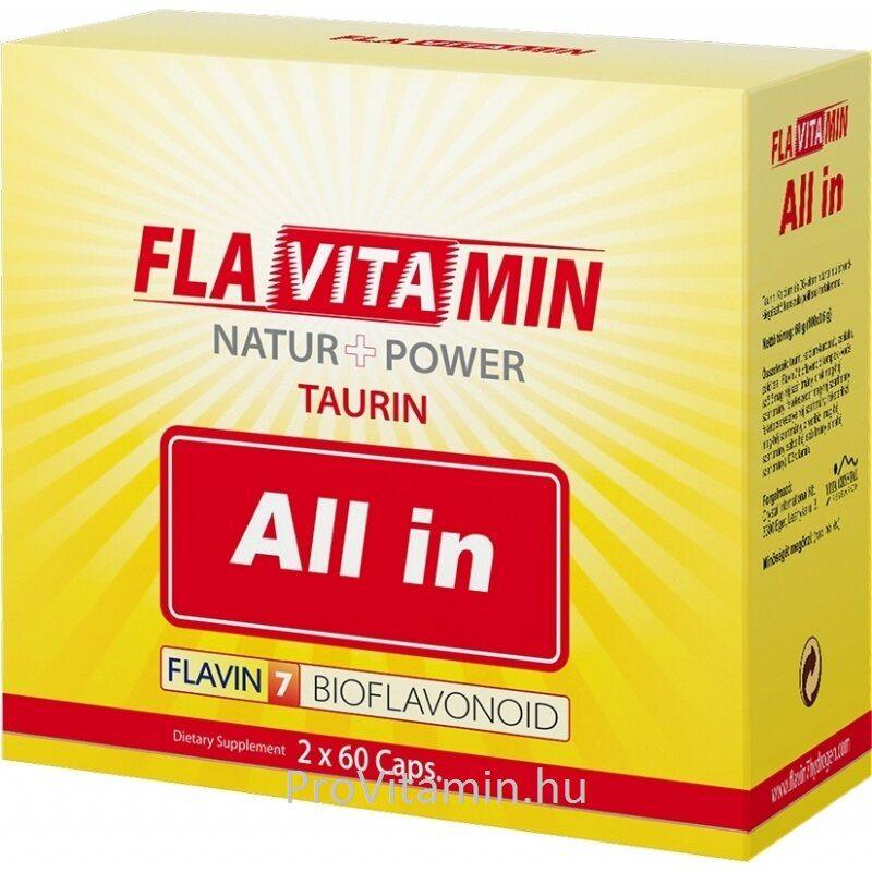 Flavitamin Nature+Power All in kapszula - 2x60 db