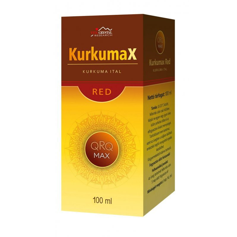 Vita Crystal KurkumaX Red – 100ml
