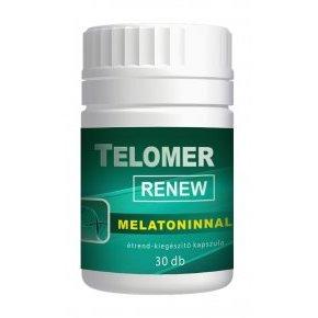 Vita Crystal Telomer Renew melatoninnal kapszula – 30db