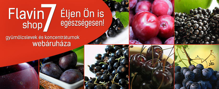 Flavin7, Flavin77 és Vita Crystal gyógynövények és gyümölcs koncentrátumok