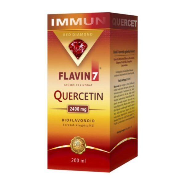 Flavin7 Quercetin – Kvercetin Immun ital – 200ml