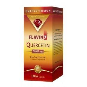 Flavin7 Quercetin – Kvercetin kapszula – 120db