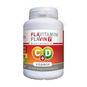 Vita Crystal Flavitamin C+D vitamin kapszula - 100db