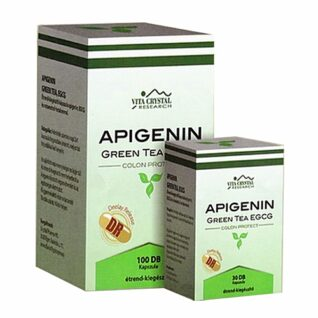 Vita Crystal Apigenin + Green tea EGCG DR kapszula – 100db
