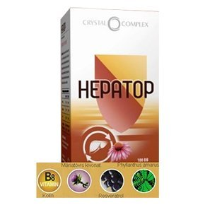 Vita Crystal Complex Hepatop kapszula - 100db