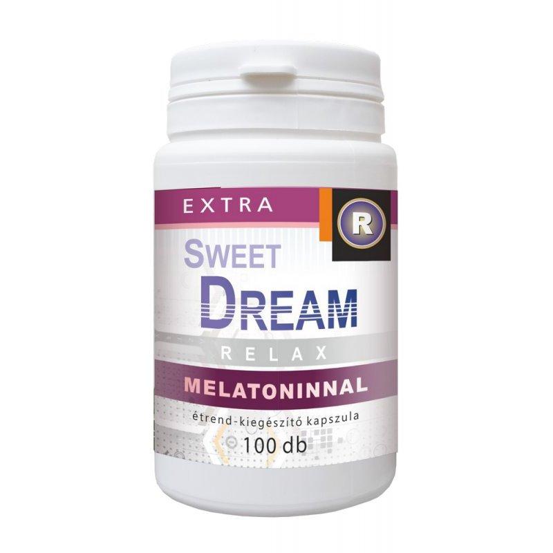 Vita Crystal Sweet Dream melatoninnal kapszula – 100db