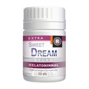 Vita Crystal Sweet Dream melatoninnal kapszula – 30db