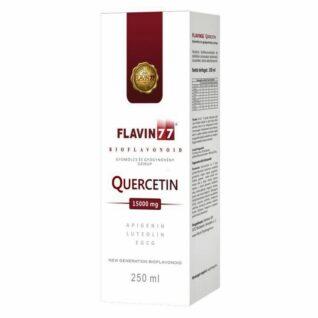 Flavin77 Quercetin gyümölcs és gyógynövény ital - 250ml