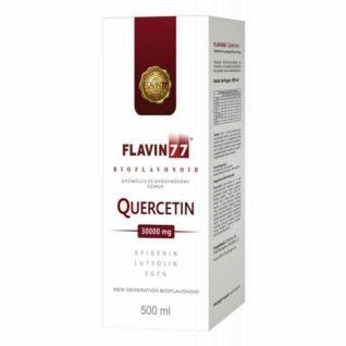 Flavin77 Quercetin gyümölcs és gyógynövény ital - 500ml