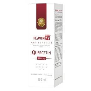 Flavin77 Quercetin gyümölcs és gyógynövény ital – 250ml