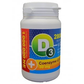 Vita Crystal D3-vitamin 28000NE Q10 kapszula - 36db
