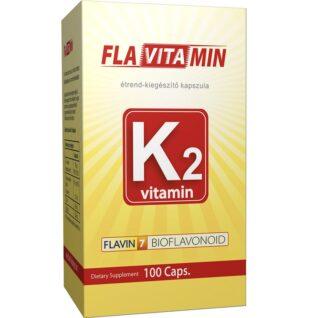 Flavin7 Flavitamin K2-vitamin kapszula - 100db