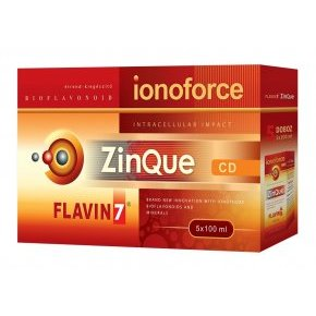 Flavin7 ZinQue Ionoforce - 5x100ml