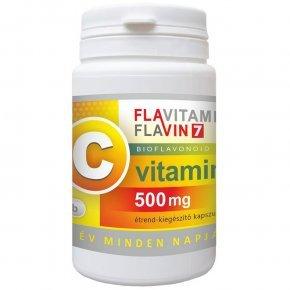 Vita Crystal Flavitamin C-vitamin 500mg kapszula - 100db