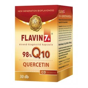 Flavin7 Q10 + Quercetin kapszula - 30db