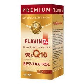 Flavin7 Q10 + Resveratrol Prémium kapszula - 90db